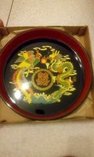 🚚 漆器茶盤