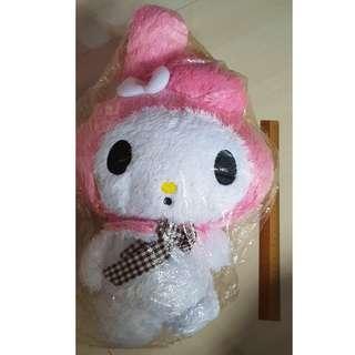 My Melody fluffy doll