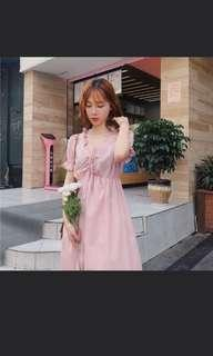 Brand new pink dress with tag