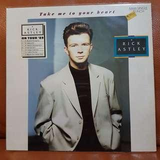 Rick Astley - Take Me To Your Heart  vinyl records