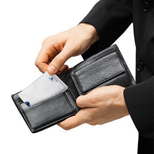 4pcs - RFID Protection Card Sleeve Anti RFID NFC Reader
