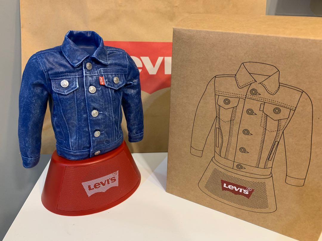 全新 超靚 Levi's 牛仔褸藍芽喇叭 bluetooth speaker