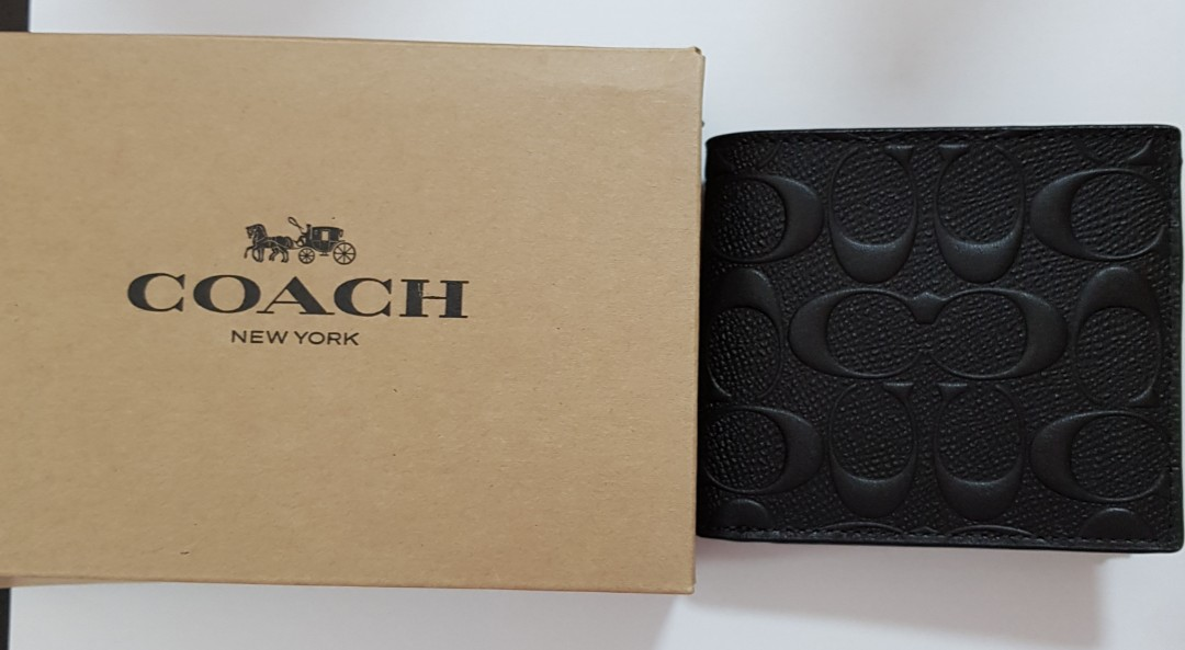 e0e6867fb352 ☆ Brand New Authentic Coach Men Wallet with Coin Pouch☆ With Care ...