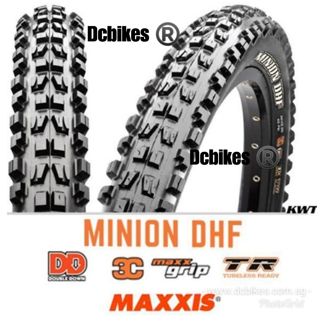 dcc8ca9248a 🆕! Maxxis 29 X 2.3 Minion DHR II   DHF Combo 3C MTB Tubeless Ready ...