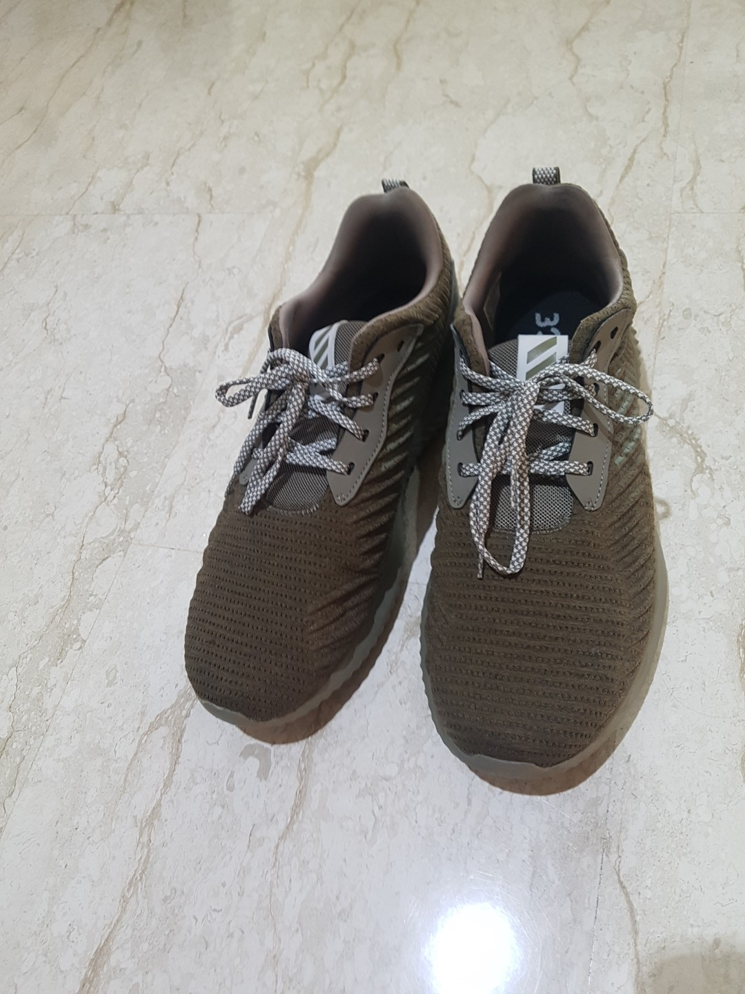 Adidas' Alphabounce Olive Green Shoes