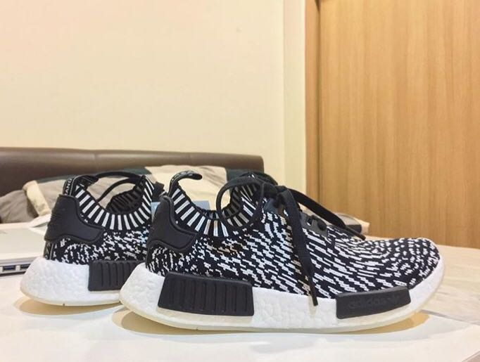 on sale 5ada5 00964 Adidas NMD R1 PK Zebra pack (Men's size)