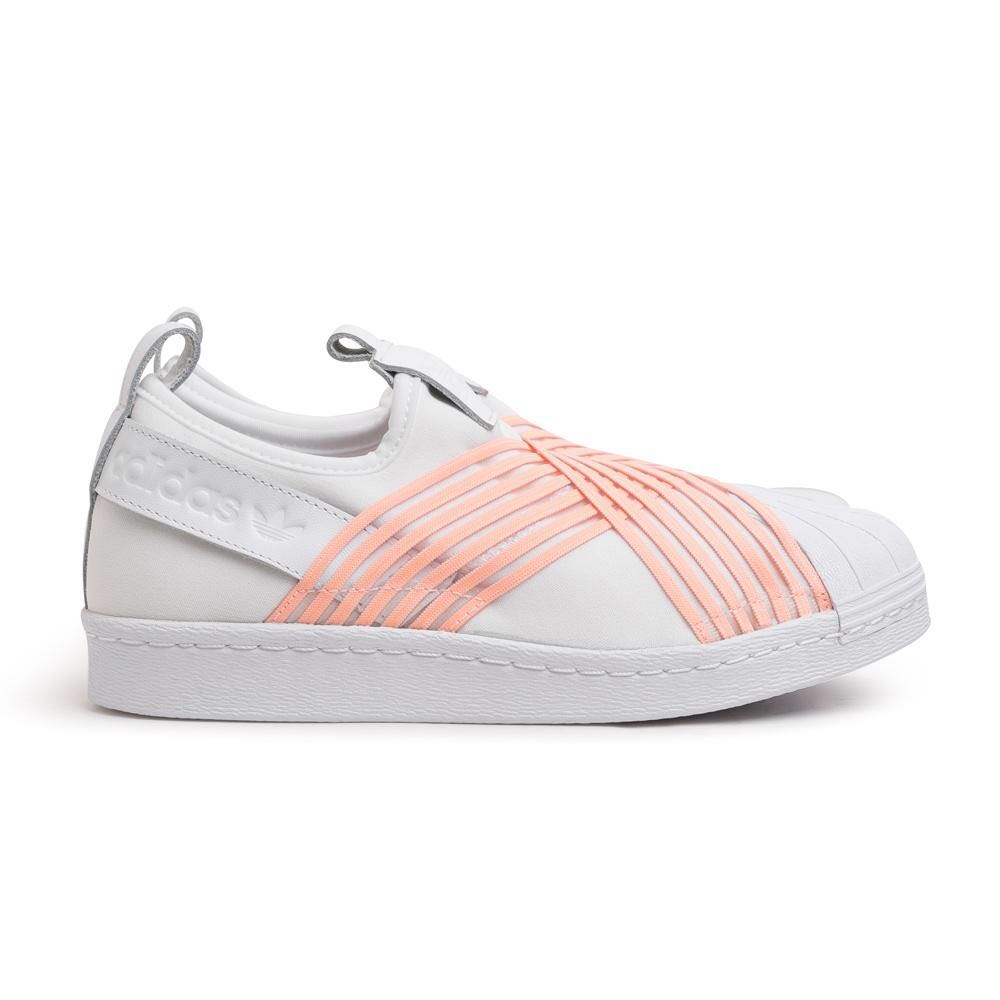 adidas superstar slip on rosa