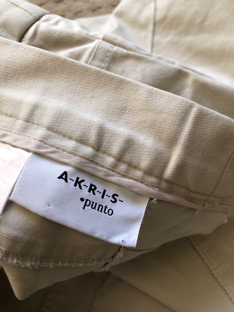 Akris punto khakis size 27