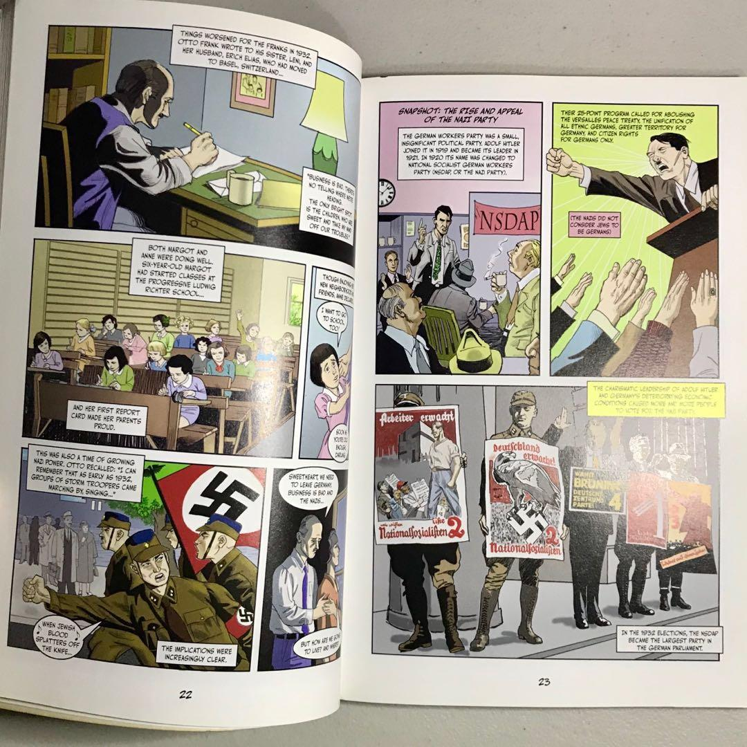 """""""Anne Frank: The Anne Frank House Authorized Graphic Biography"""" by Sid Jacobson & Ernie Colón"""