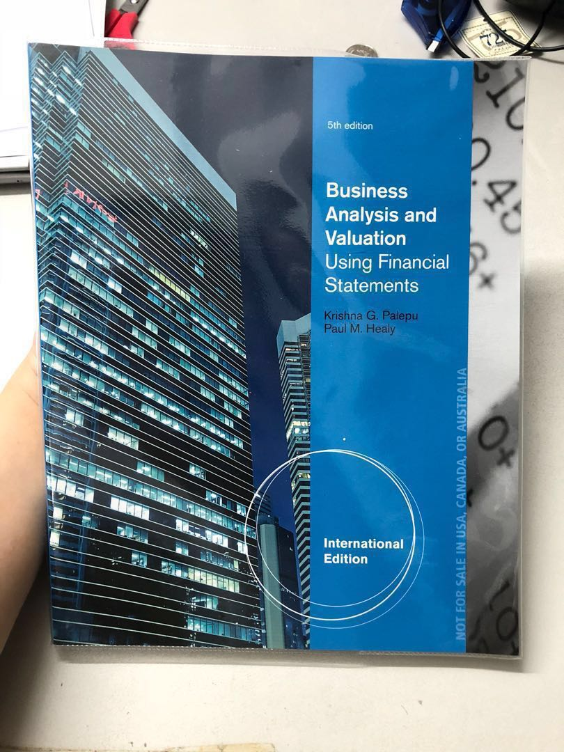 financial statement analysis and valuation 5th edition answers