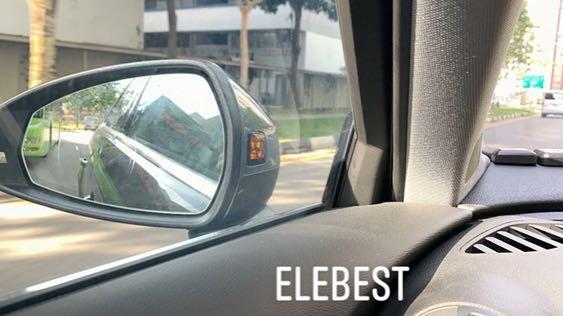 Audi A3 Q2 Side Assist aka Blind Spot Warning