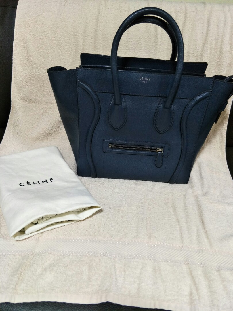0312538744 Authentic Celine Mini luggage