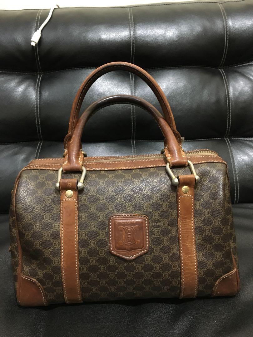 53328fd88e7 Authentic Celine Paris Boston Bag, Luxury, Bags   Wallets on Carousell