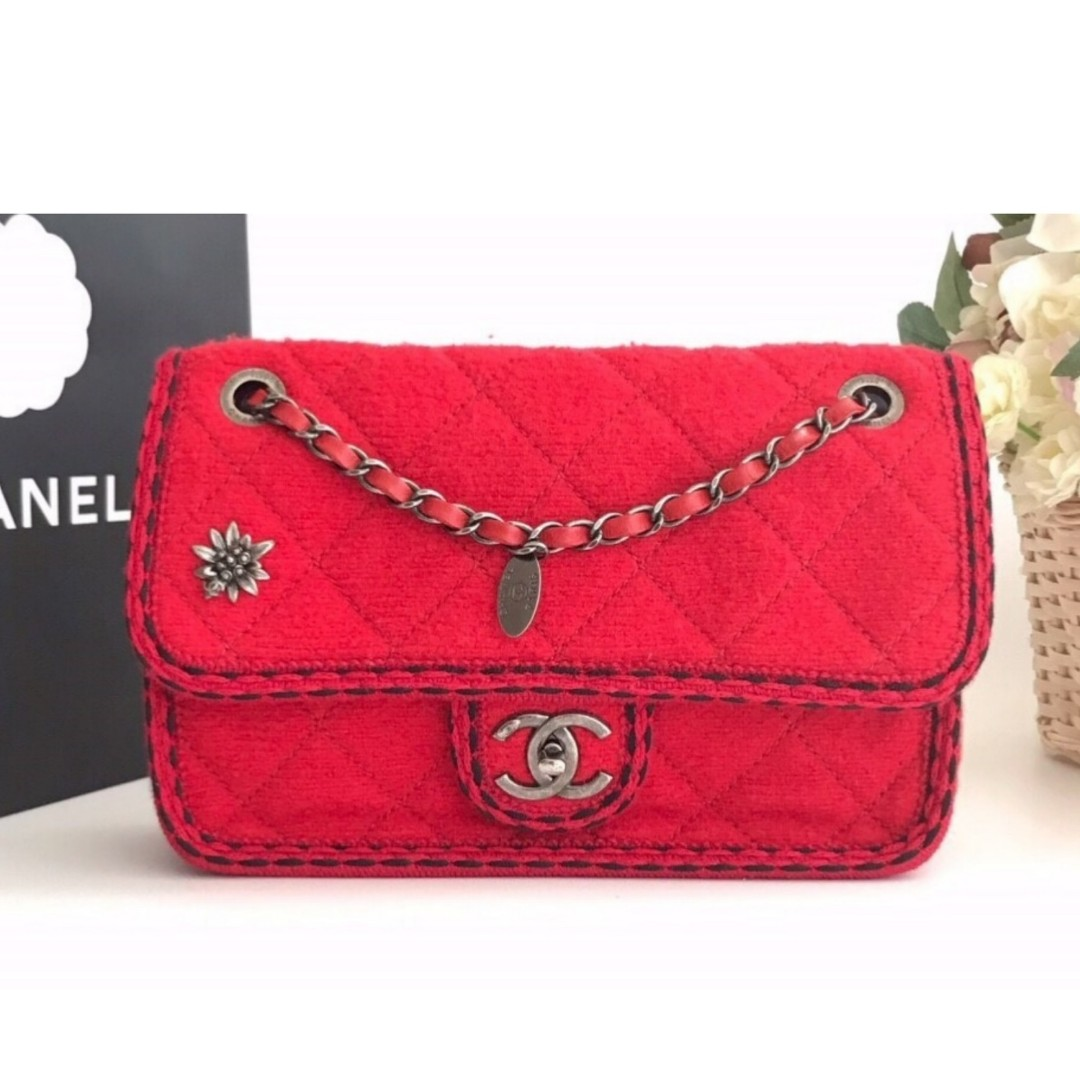 Authentic Chanel Medium Tweed Bag d852c051a9