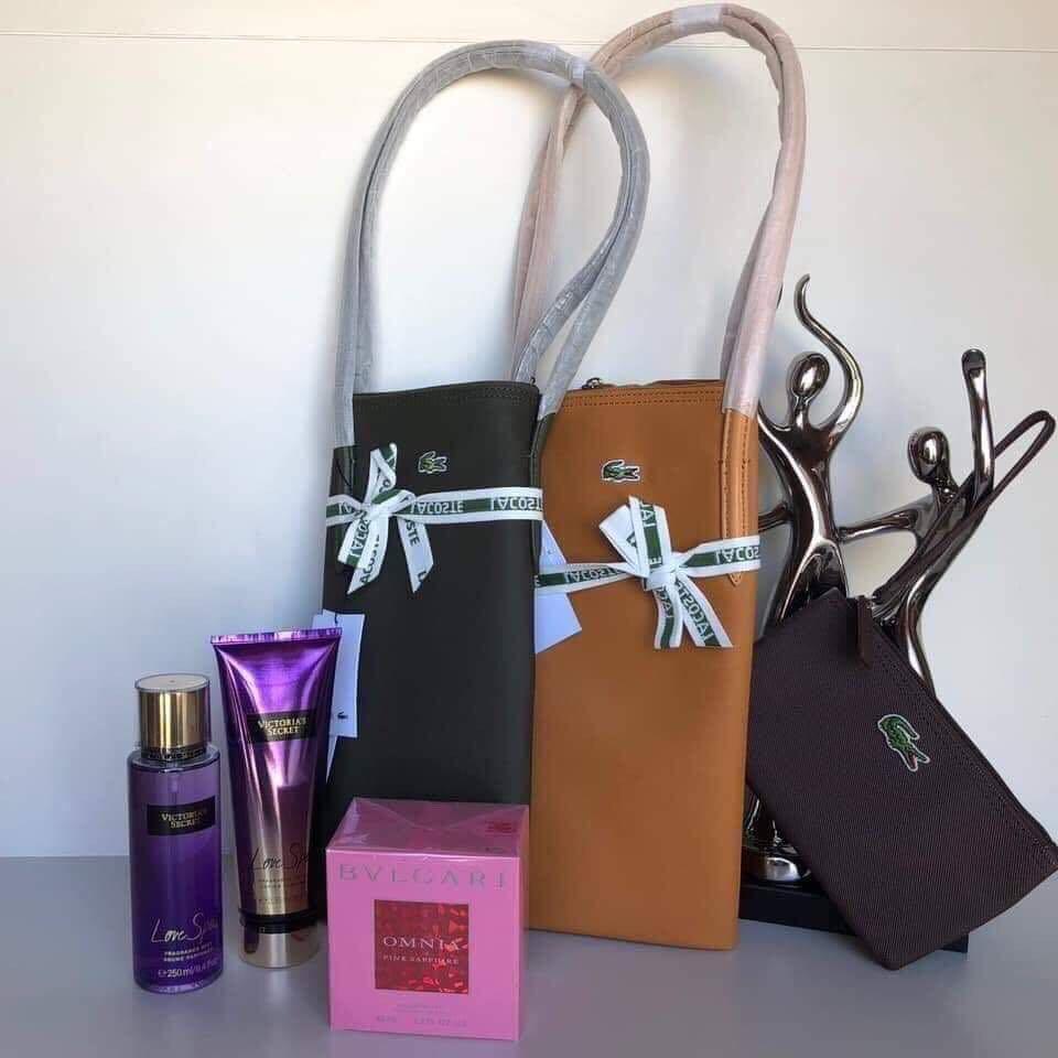 41148cdf2427 Authentic Lacoste Bag sold as Set