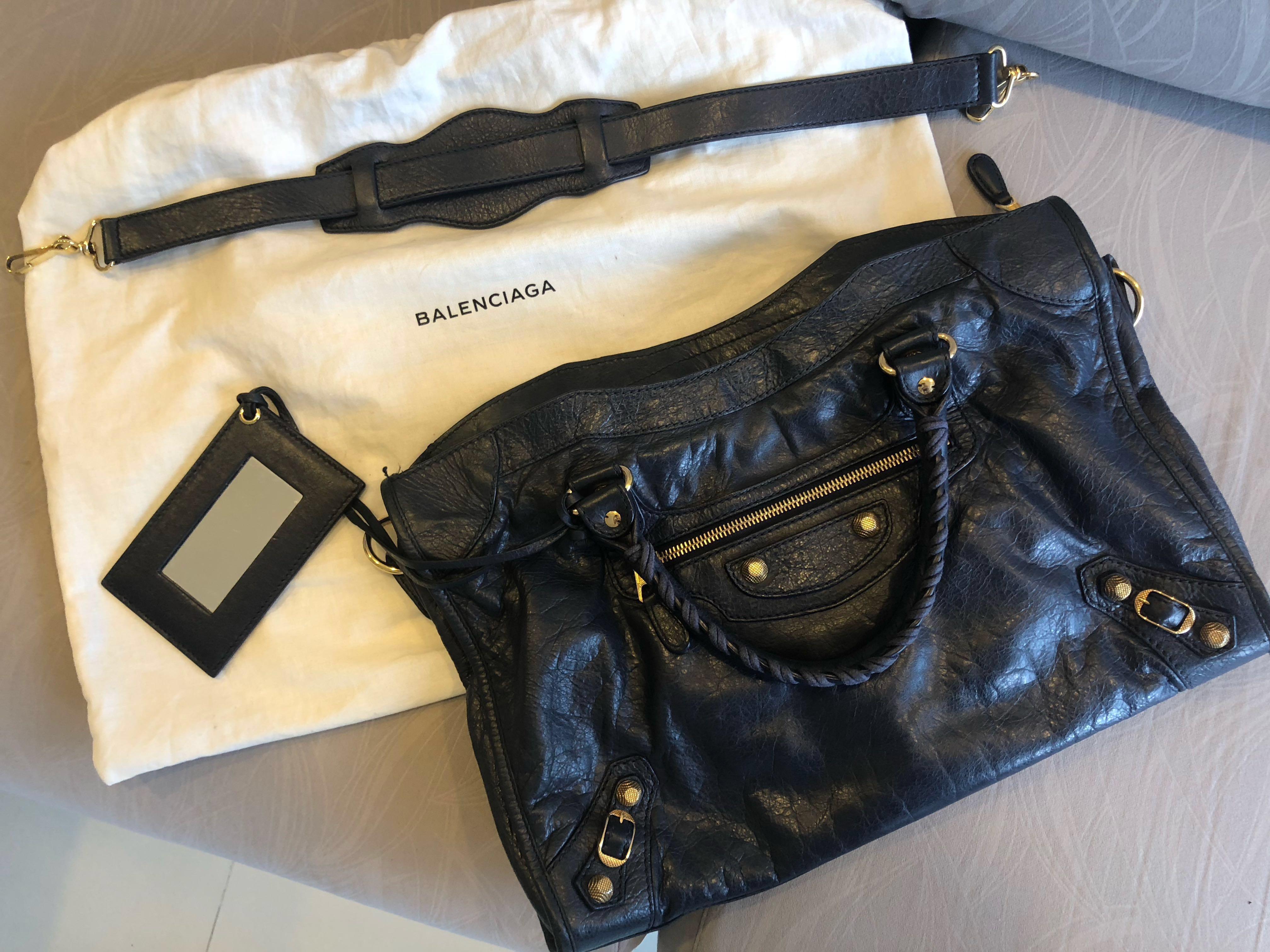 493a7030f4e2 Balenciaga City Gold Bag