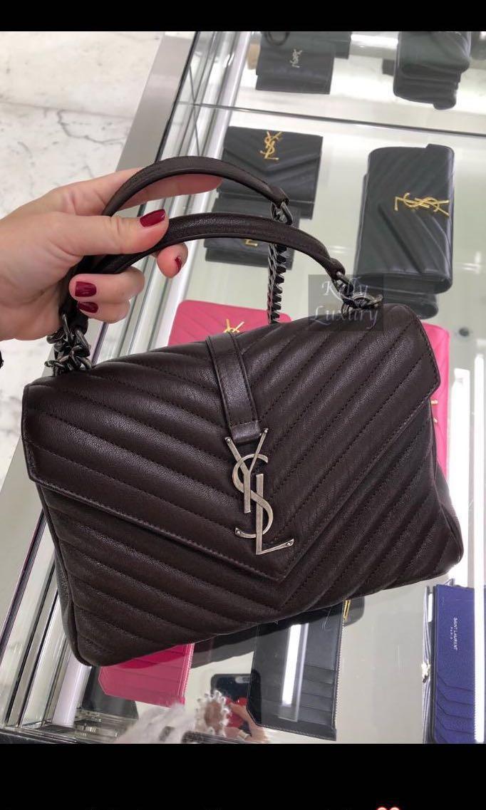 7afda22d4417 BN Medium YSL college bag
