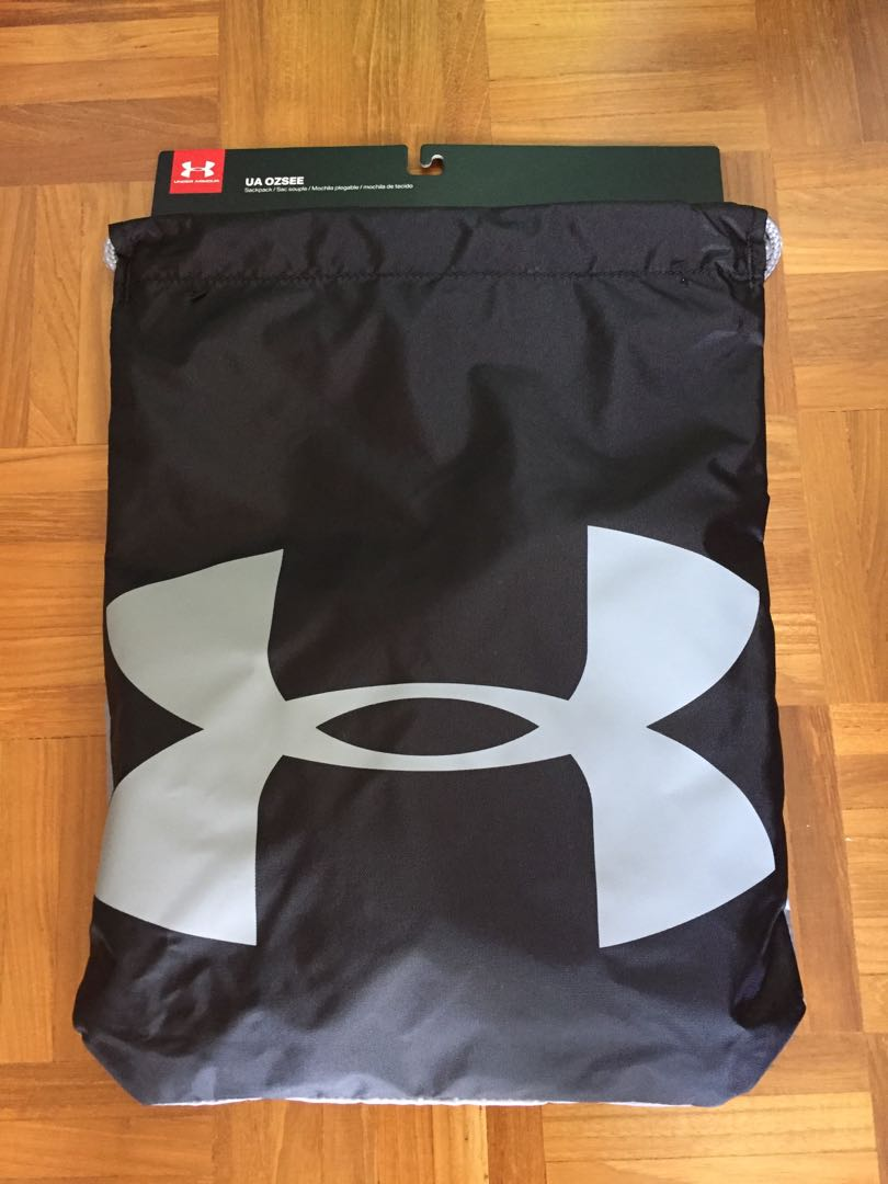 947f346ebf6c BNWT Authentic Under Armour drawstring bag UA Ozsee sackpack