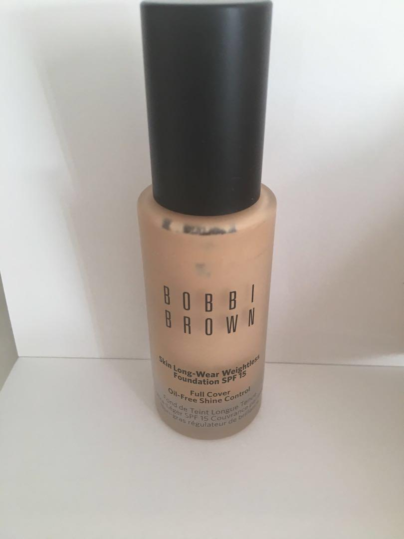 Bobbi brown - skin long wear foundation - natural 4