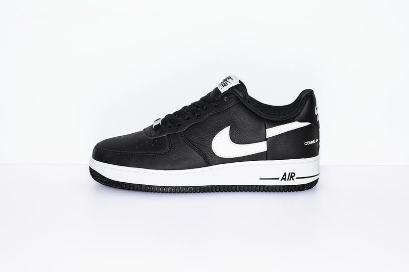 335cad672b6a CDG x Supreme Nike Air Force 1 Low