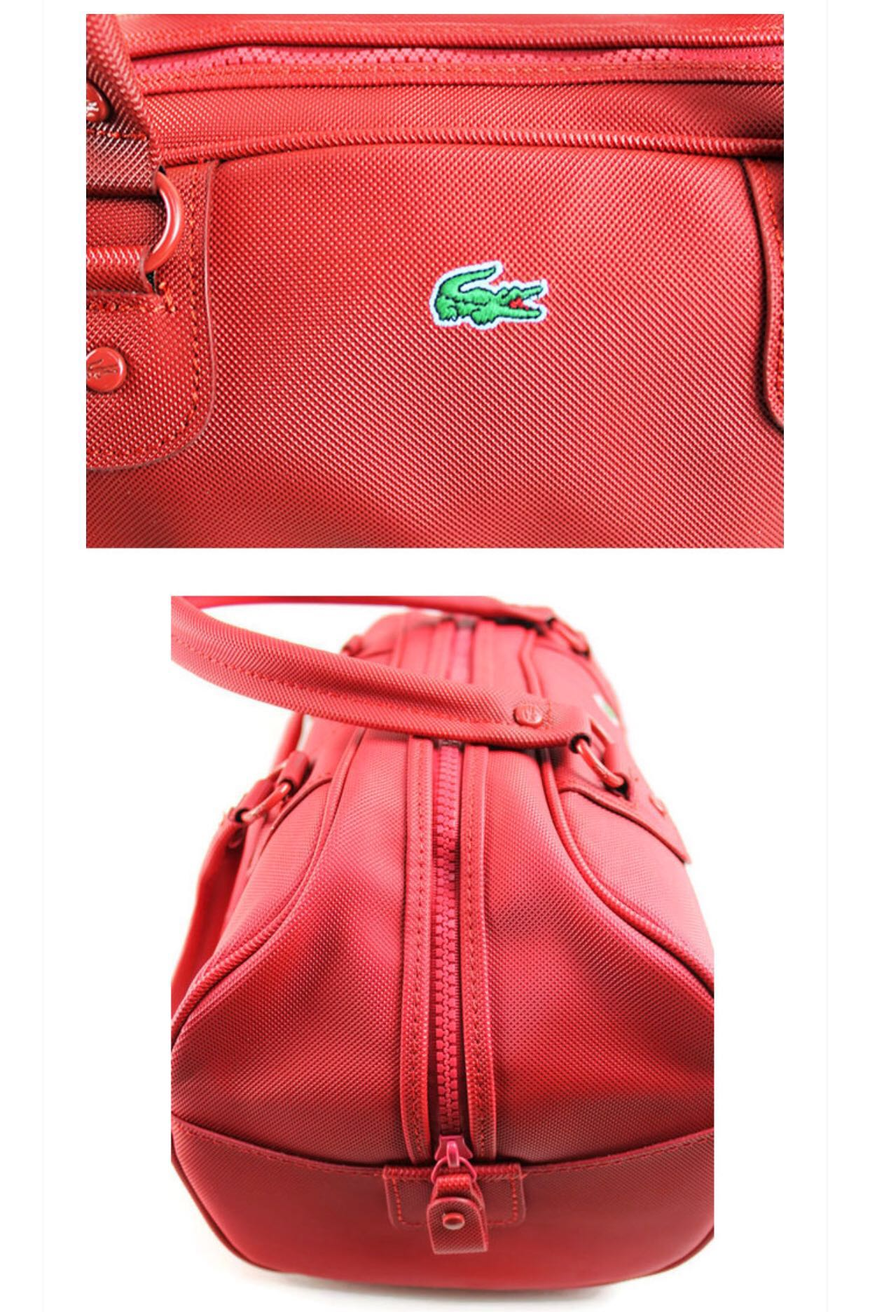 0a339ab59 🛍CLEARANCE SALE! 💯% LACOSTE BOWLING BAG (RED) READY STOCK   LAST 1 ...