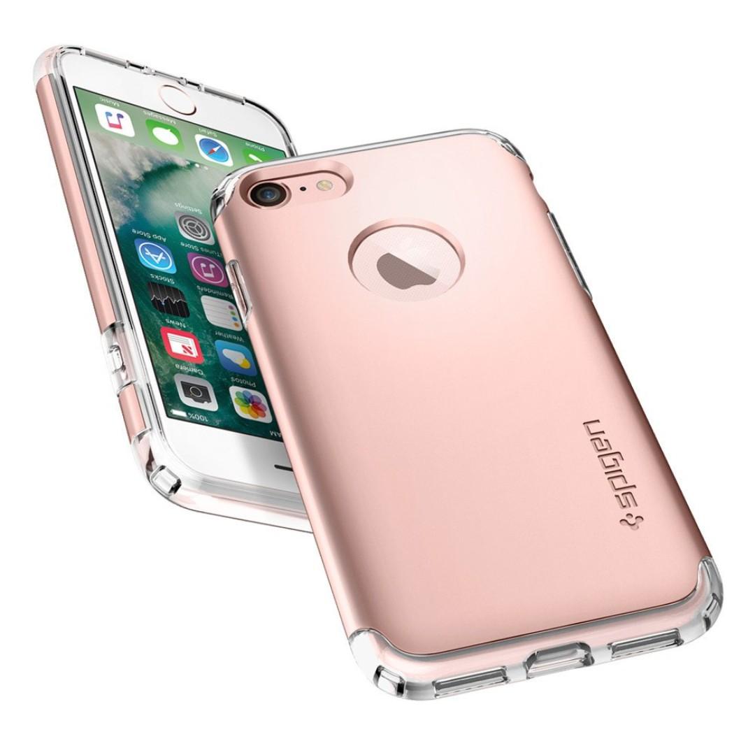 🍊CNY SALE🍊 Spigen iPhone 7/ 8 [Hybrid Armor][Rose Gold] 🍊