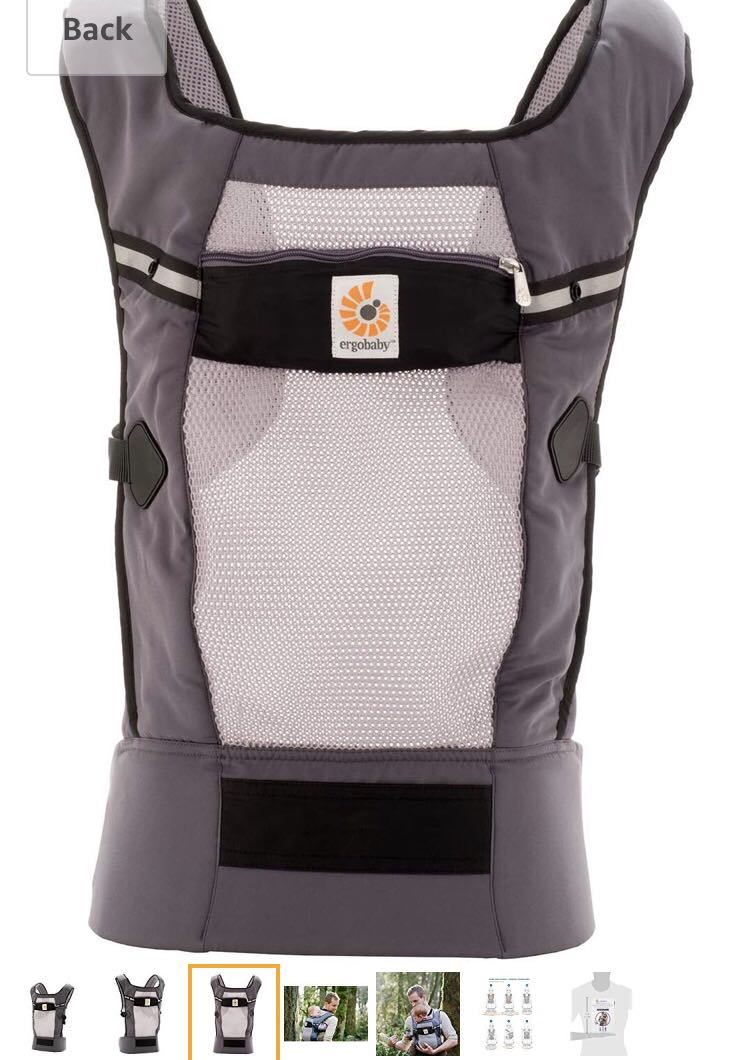a0a94f276f7 Ergobaby Performance Ventus Carrier