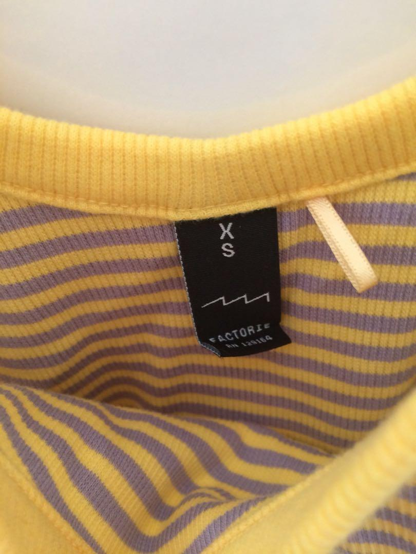 factorie striped top