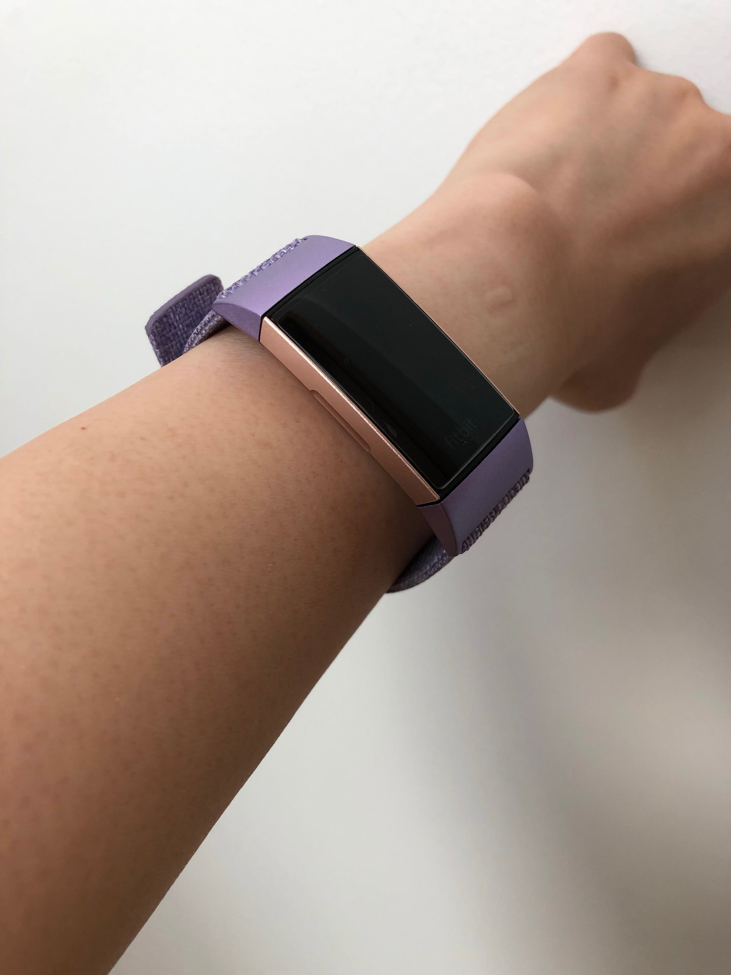 Fitbit Charge 3 Woven Lavender Straps