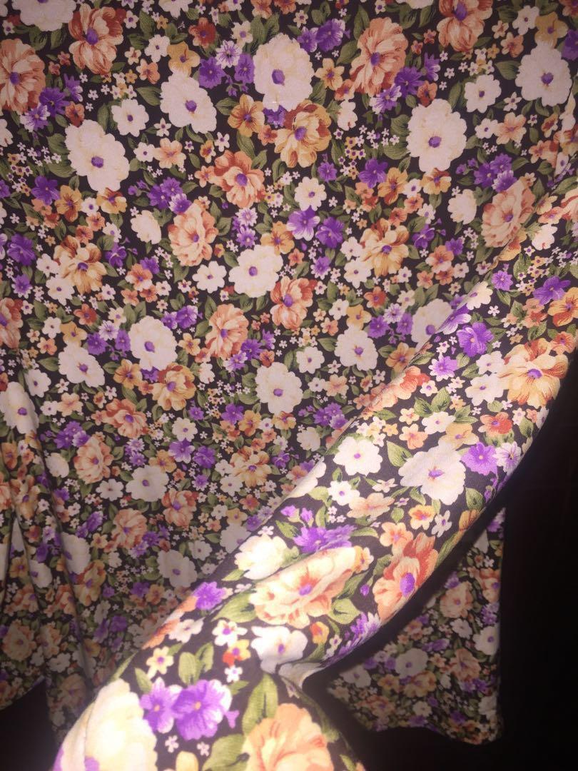 Flowery Blouse #oktosale