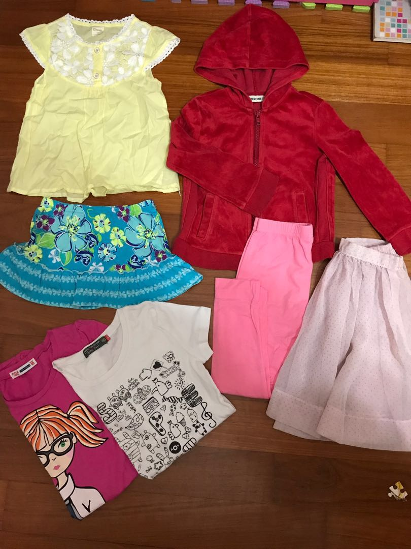 3411c679c614 Girl Clothes Bundle 4-6yo