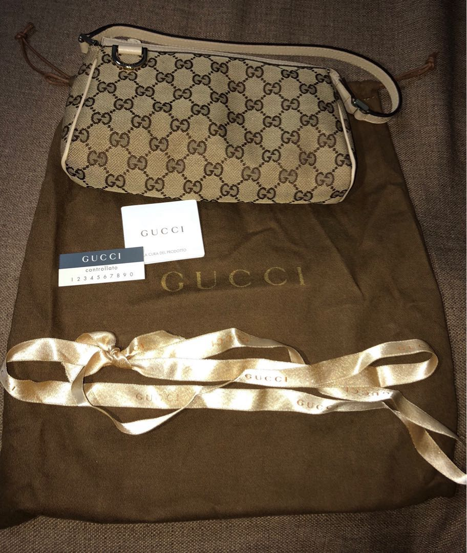a65d242f666 Gucci Canvas Bag