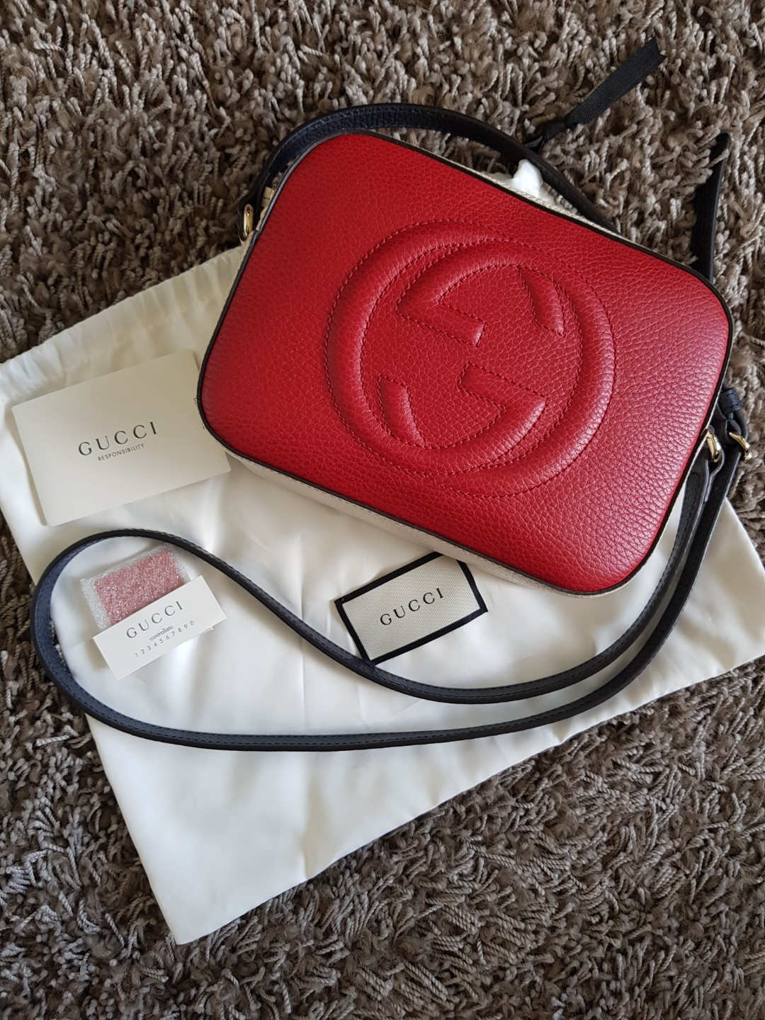 1a9f0f5f1a4 Gucci Soho Tricolour Sellier Limited Edition Crossbody Bag