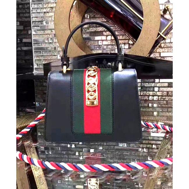 Gucci Sylvie Leather Mini Bag 9bc4e2d12bf97