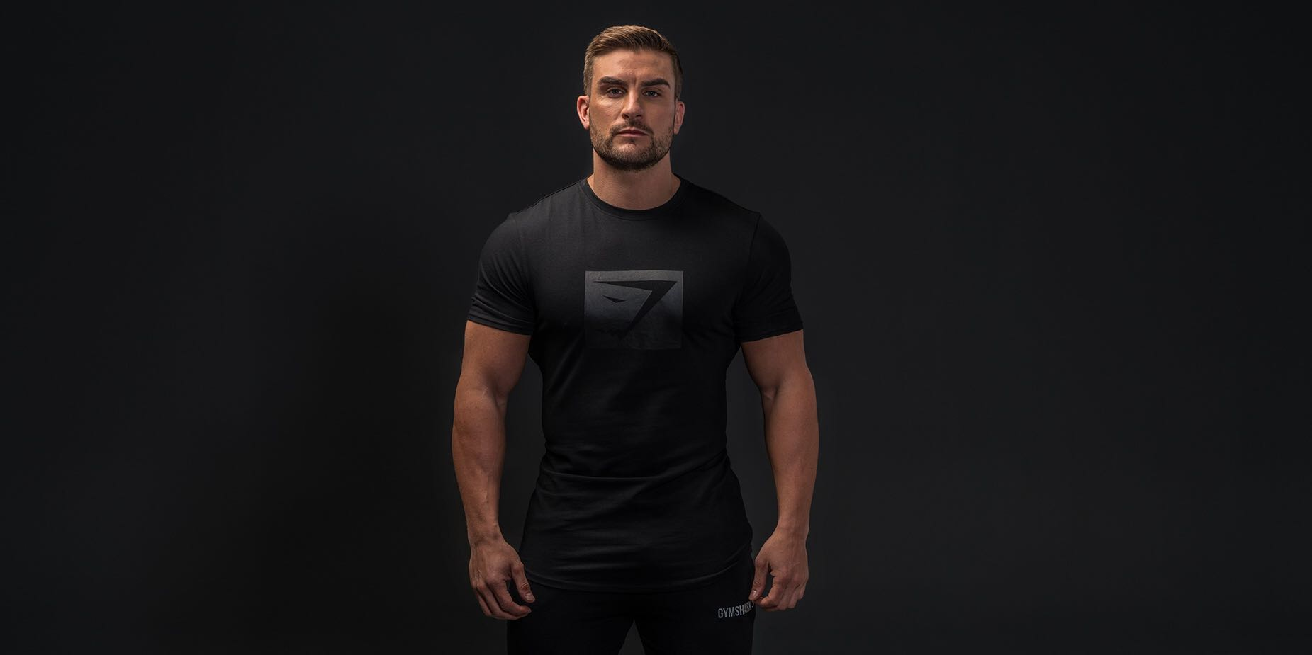 4b793b32c Gymshark Blackout T-Shirt (Black Friday Exclusive), Men's Fashion, Clothes,  Tops on Carousell