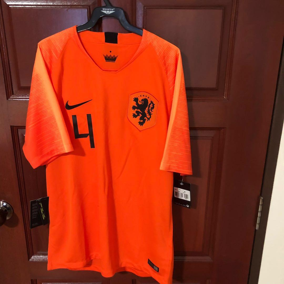 the best attitude 3c720 90377 Holland 2019 Home Jersey, Sports, Sports Apparel on Carousell