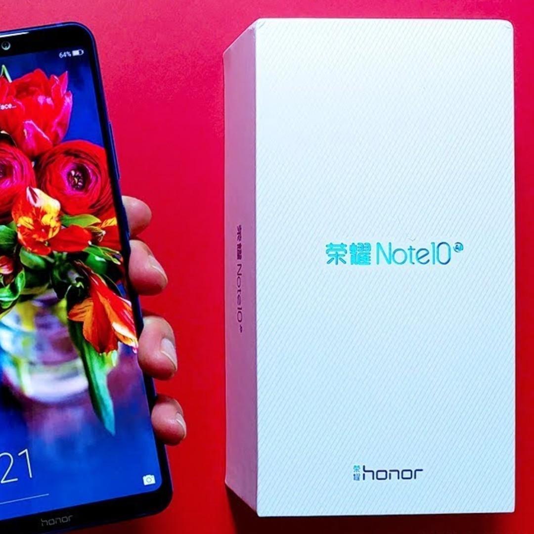 Huawei Honor Note 10 Black 6 GB Ram 64 GB Rom EMUI 9