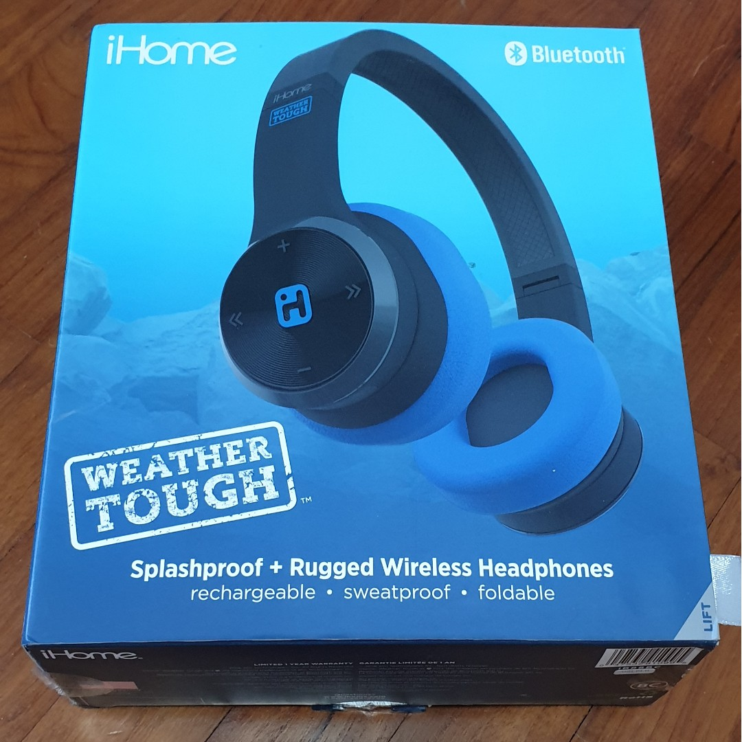 e4c52fd5a69 IHome headphones, Electronics, Audio on Carousell
