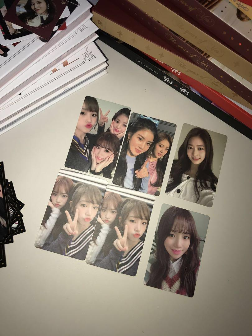izone photocards, Entertainment, K-Wave on Carousell