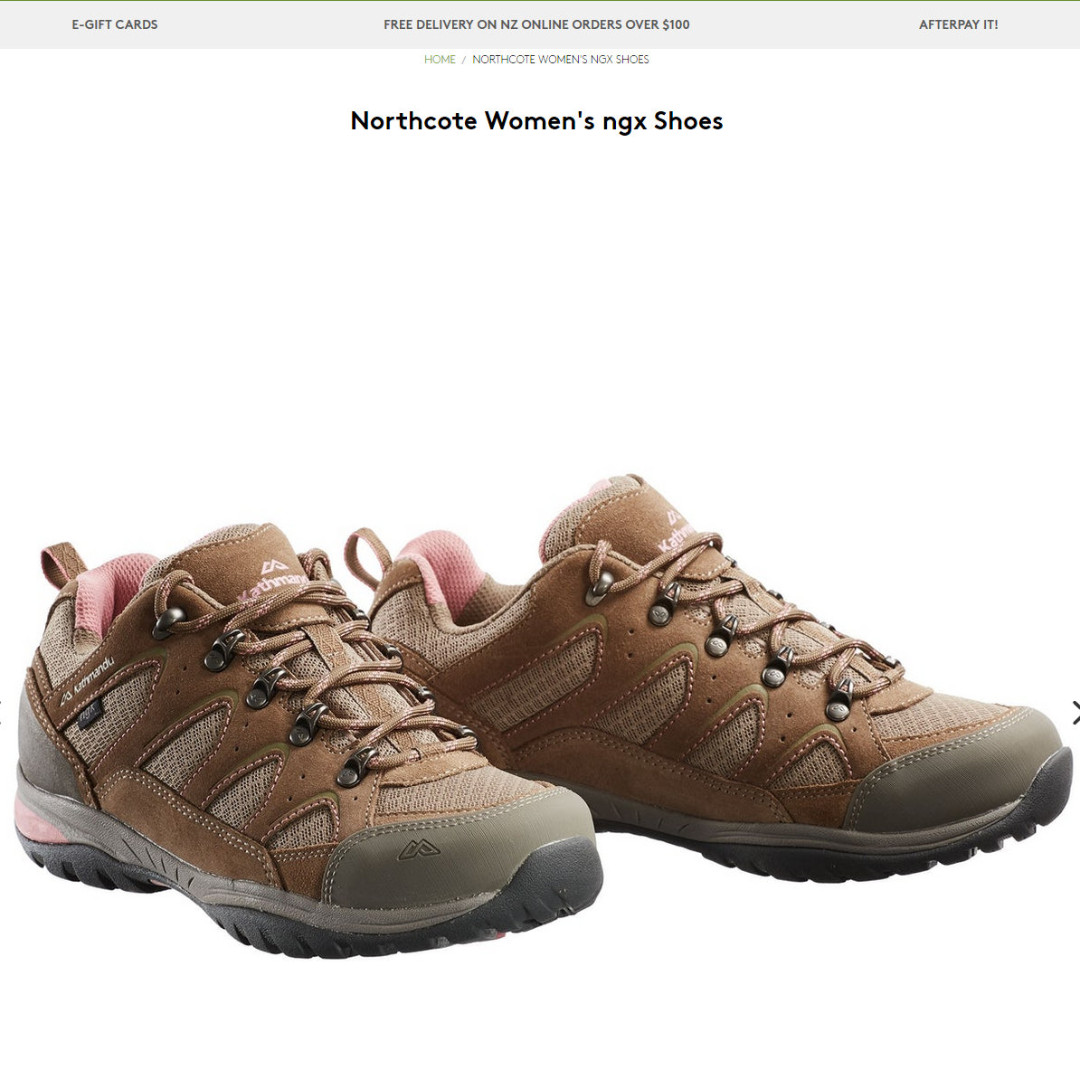103976b45fea Kathmandu Northcote Women s NGX Shoes for Hiking Travel