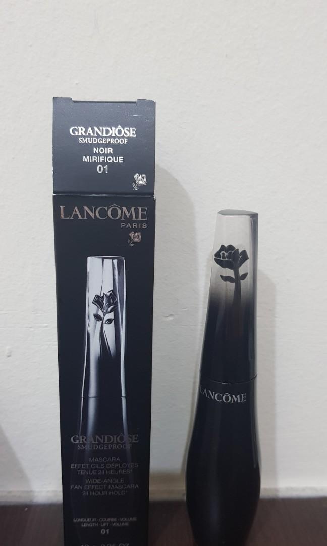 d8e82ecc8c2 Lancome Grandiose Smudgeproof Mascara, Health & Beauty, Makeup on Carousell