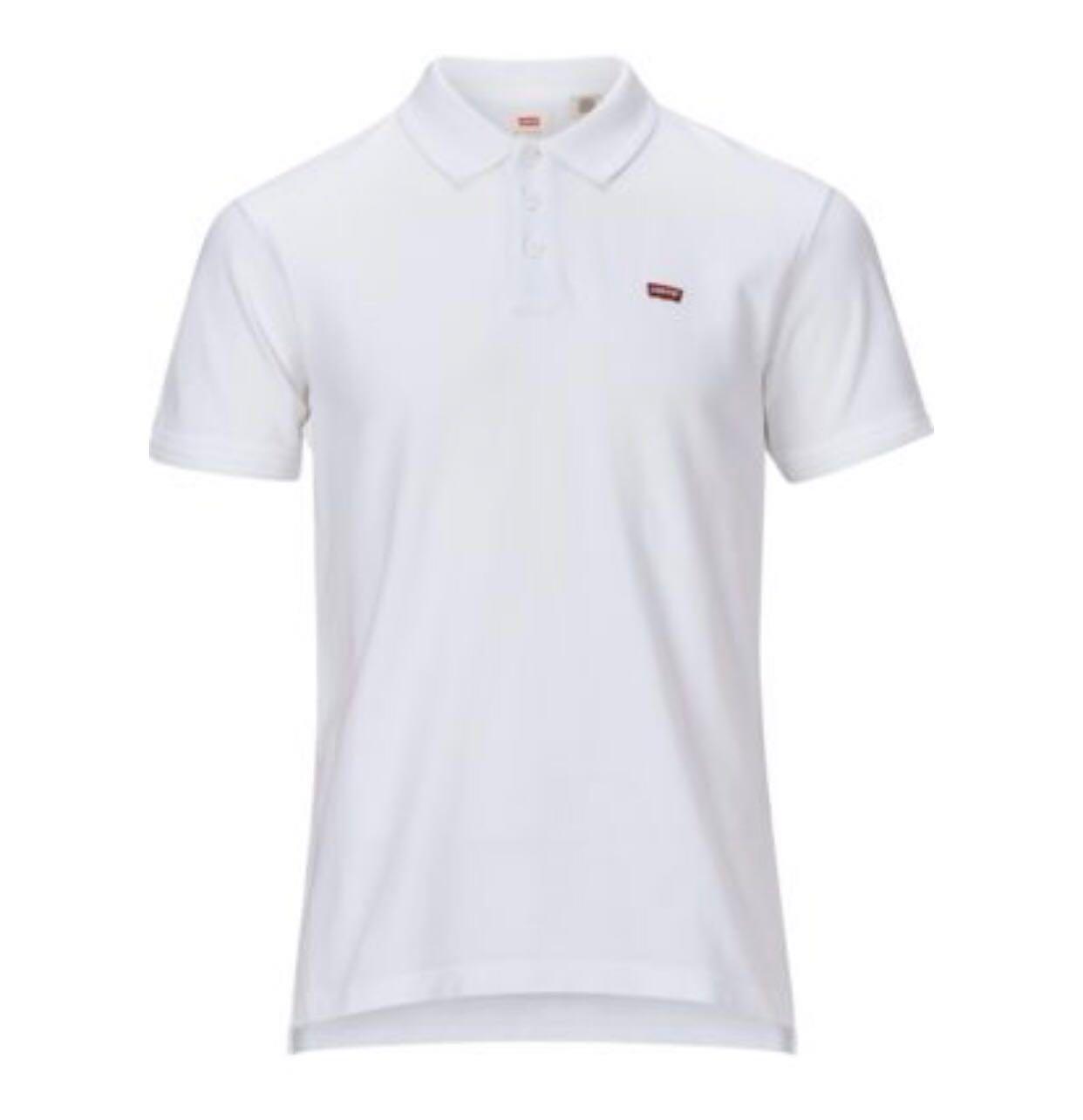 43ed11038 Levi's Housemark Polo Tee White, Men's Fashion, Clothes, Tops on ...