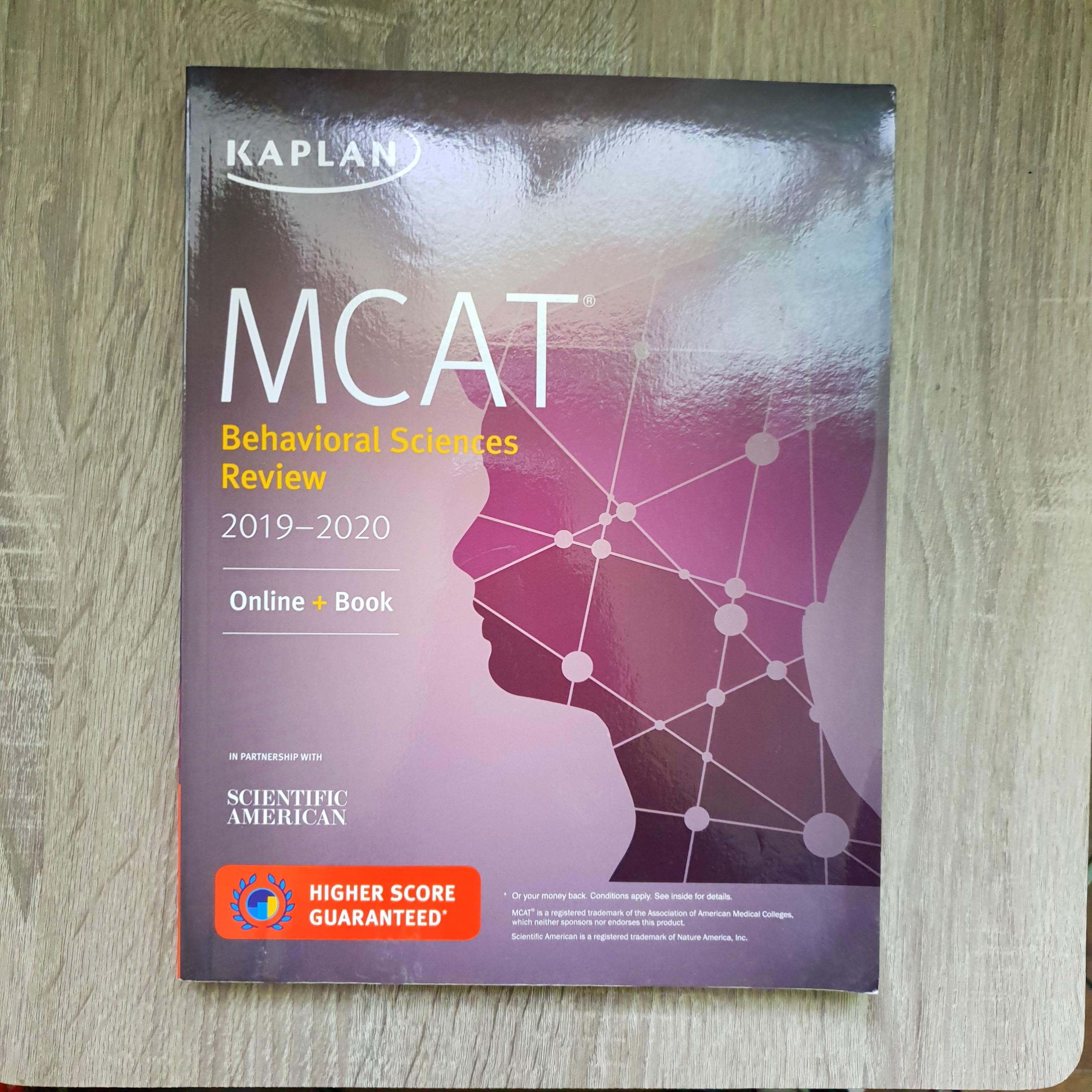 MCAT Behavioral Science Reviewer 2019-2020 (Kaplan)