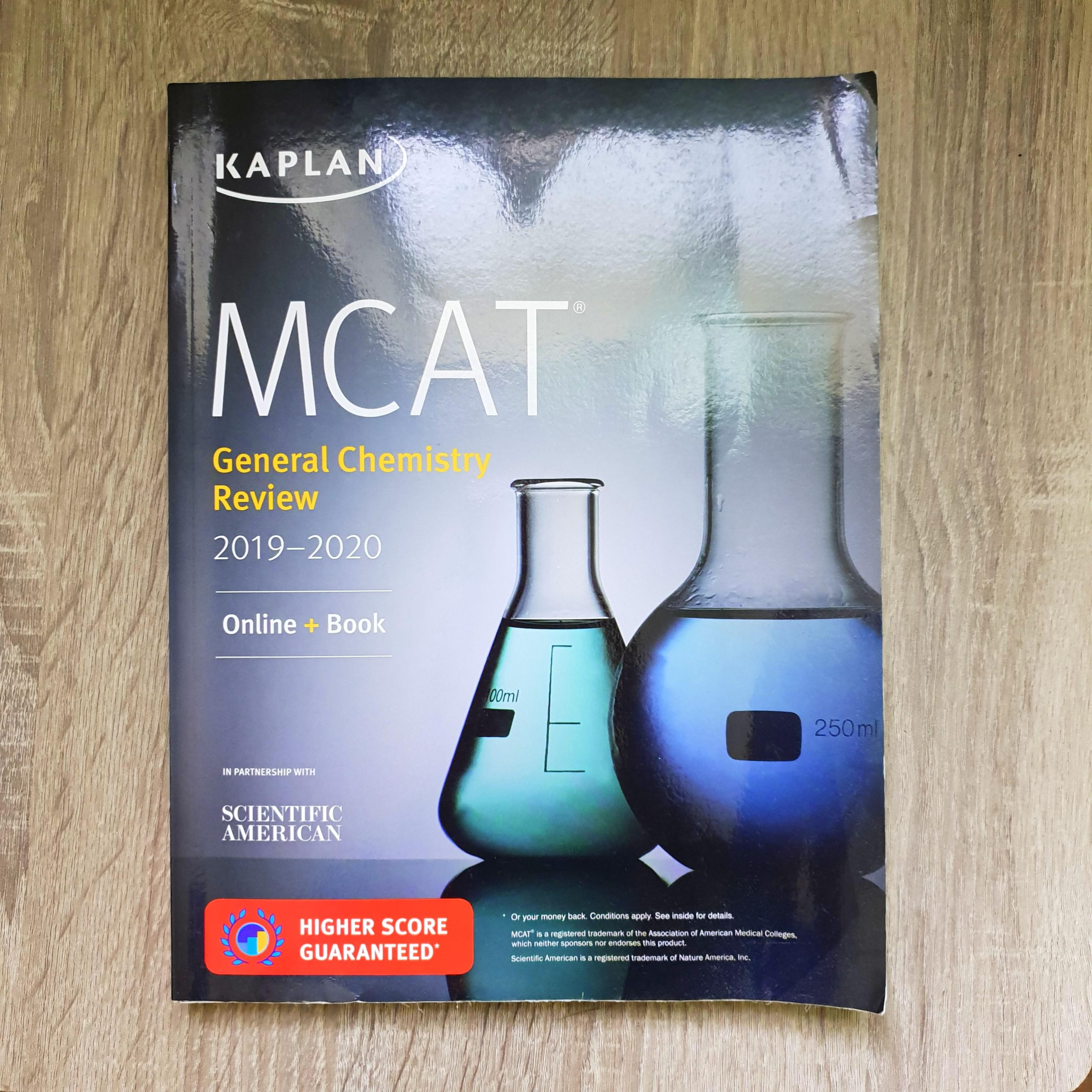 MCAT General Chemistry Reviewer 2019-2020 (Kaplan) on Carousell