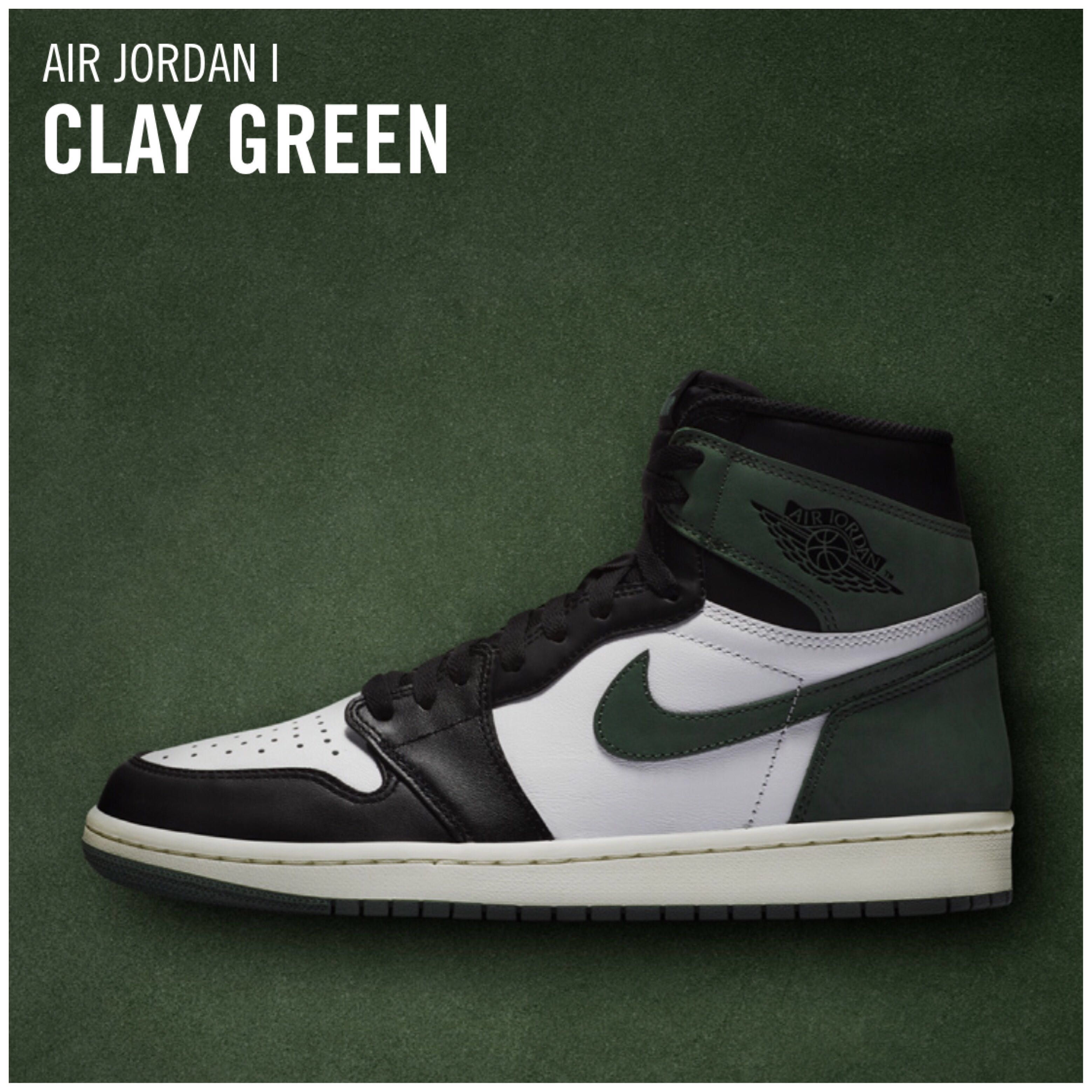 wholesale dealer 229e2 a37d9 Men s Nike Air Jordan 1 Retro High OG CLAY GREEN BEST HAND IN THE GAME  COLLECTION LIMITED QUANTITY, Men s Fashion, Footwear, Sneakers on Carousell