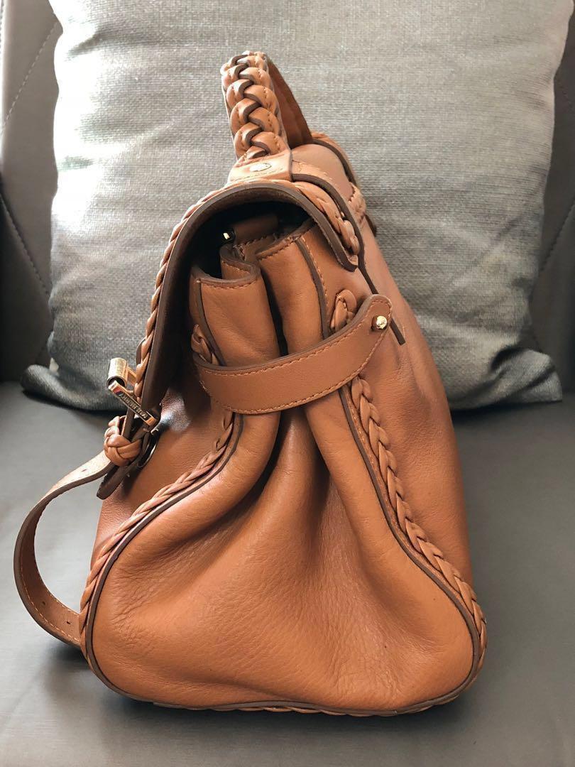 4ba20d3543 Mulberry Alexa bag with Woven Trim Satchels