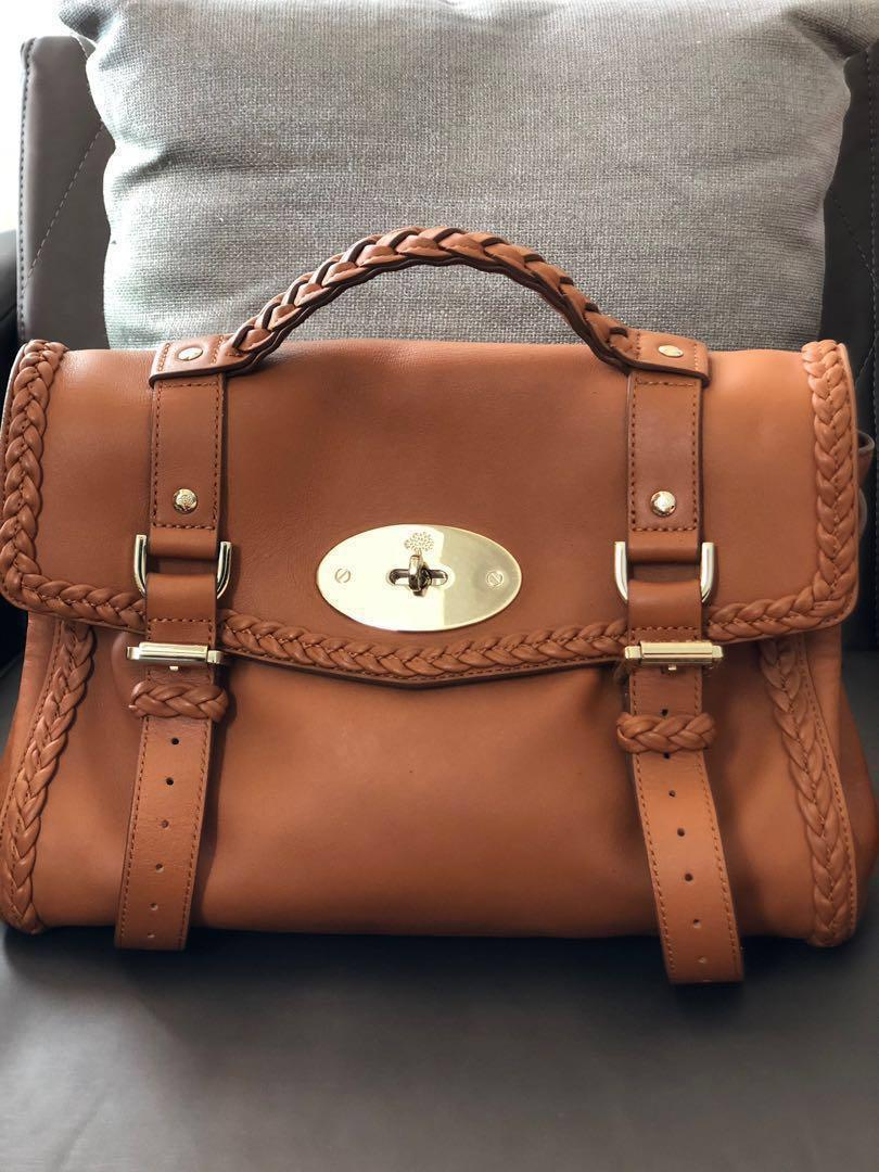 Mulberry Alexa Bag With Woven Trim Satchels Luxury Bags