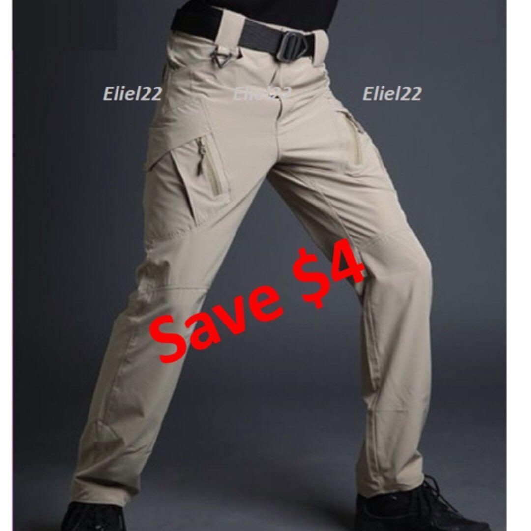 New Year Sale -  Men Vertical Zip Tactical Cargo Pants
