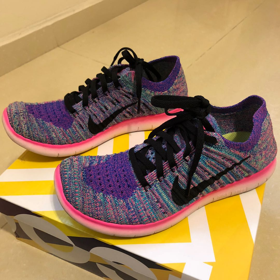 46635ee319a6 Nike Free RN Flyknit Women Running Shoes