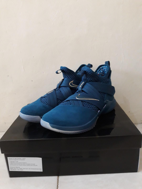 b65b358b37a Nike Lebron Soldier XII Blue US 11